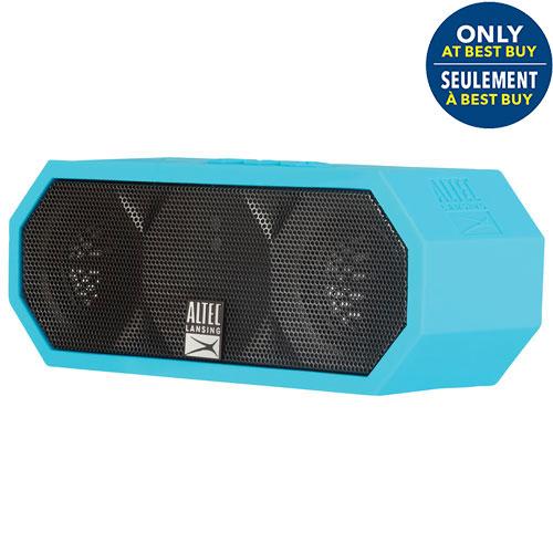Altec Lansing H2O III Waterproof Mudproof Snowproof Dustproof Wireless Bluetooth Speaker - Aqua Blue - Only at Best Buy