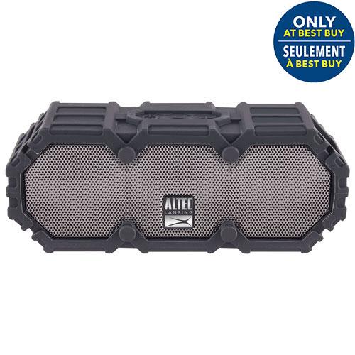 Altec Lansing Mini Life Jacket III Waterproof Snowproof Dustproof Wireless Bluetooth Speaker - Black - Only at Best Buy