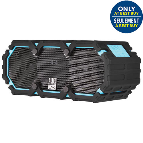 Altec Lansing Life Jacket III Waterproof Snowproof Dustproof Wireless Bluetooth Speaker - Blue - Only at Best Buy