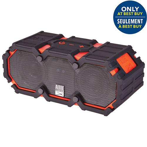 Altec Lansing Life Jacket III Waterproof Snowproof Dustproof Wireless Bluetooth Speaker - Red - Only at Best Buy