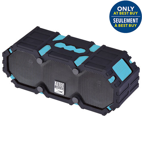 Altec Lansing Mini Life Jacket III Waterproof Snowproof Dustproof Wireless Bluetooth Speaker-Blue - Only at Best Buy