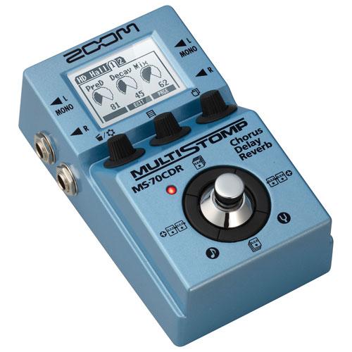 Pédale pour guitare MS-70CDR MultiStomp de Zoom