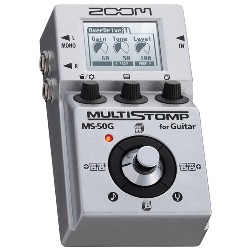 Pédale pour guitare MS-50G MultiStomp de Zoom
