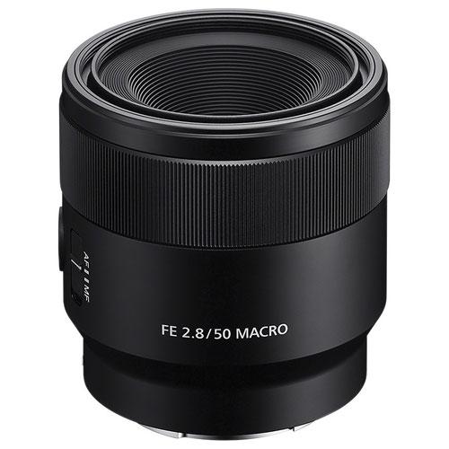 Sony FE 50mm f/2.8 Full-Frame Macro Lens