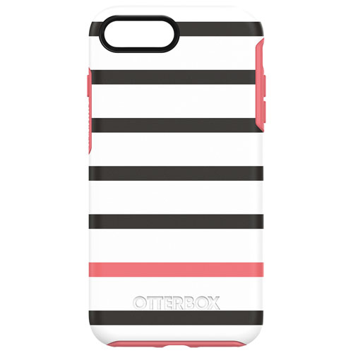 OtterBox Symmetry iPhone 7/8 Plus Fitted Hard Shell Case - Black/Pink