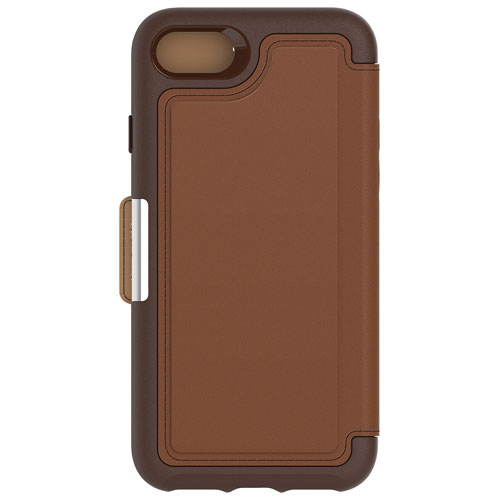 OtterBox Strada iPhone 7/8 Fitted Soft Shell Leather Case - Brown