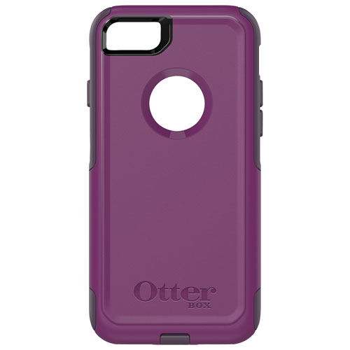 OtterBox Commuter iPhone 7/8 Fitted Hard Shell Case - Plum