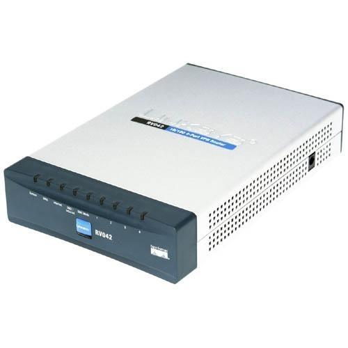 Cisco RV042 4-port Fast Ethernet VPN Router-Dual WAN