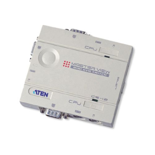 Aten 2 Port Compact MasterView KVM Switch