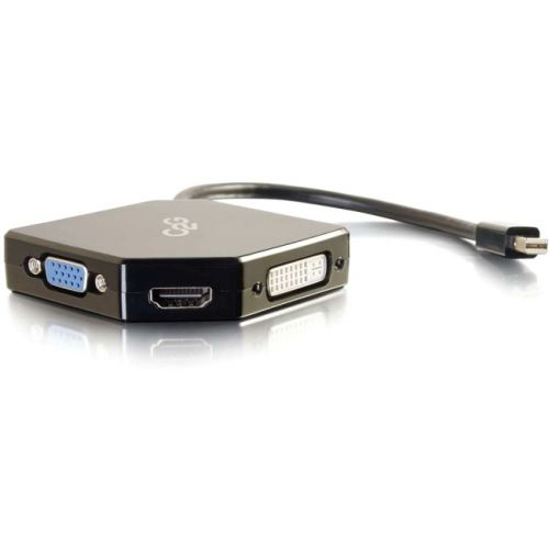 C2G Mini DisplayPort to HDMI, VGA, or DVI Adapter Converter