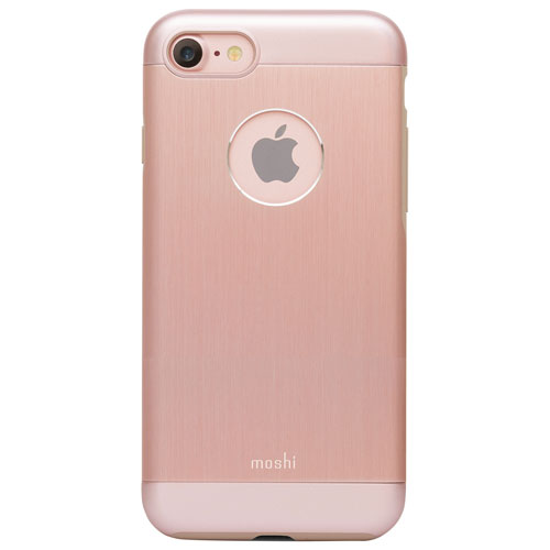 Moshi iGlaze Armour iPhone 7/8 Fitted Hard Shell Case - Golden Rose