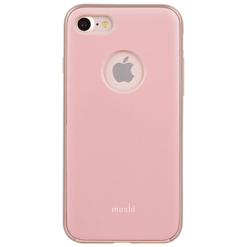 Moshi iGlaze iPhone 7/8 Fitted Hard Shell Case - Pink