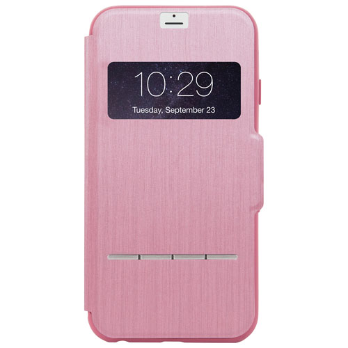Moshi SenseCover iPhone 7 Plus Fitted Hard Shell Case - Pink