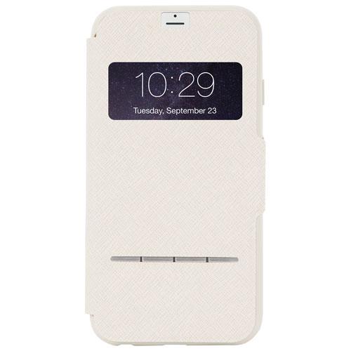 Étui rigide ajusté SenseCover de Moshi pour iPhone 7 Plus - Beige