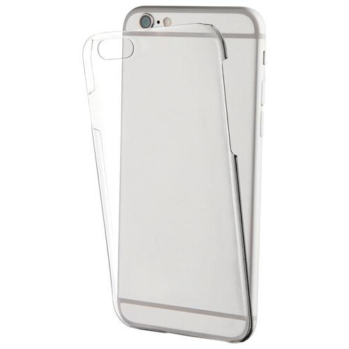 Étui souple ajusté Crystal de Muvit pour iPhone 7/8 (MUCRY0136) - Transparent