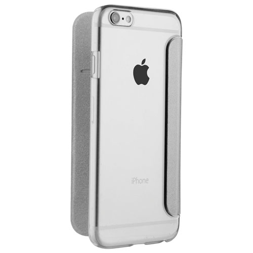 Muvit iPhone 7/8 Folio Case - Silver
