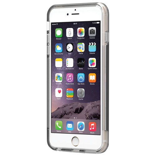 PureGear Dualtek Pro iPhone 7/8 Plus Fitted Soft Shell Case - Black/Clear