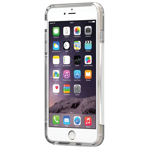 PureGear Dualtek Pro iPhone 7/8 Plus Fitted Soft Shell Case - White/Clear