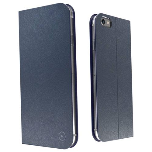 Étui folio en cuir de Muvit pour iPhone 7/8 - Gris