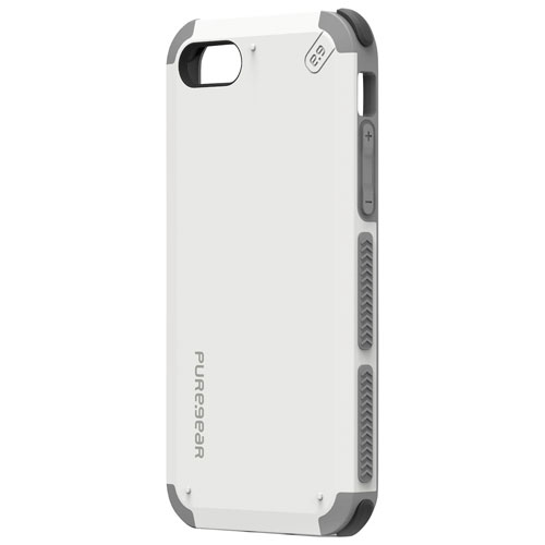 Puregear Dualtek iPhone 7 Fitted Soft Shell Case - White