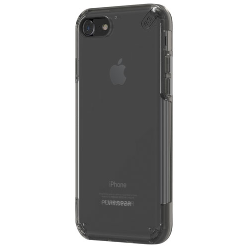 Puregear Slim Pro iPhone 7 Fitted Soft Shell Case - Grey