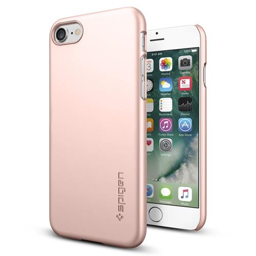 Spigen Thin Fit Case for iPhone 7 - Rose Gold