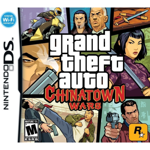 Grand Theft Auto : Chinatown Wars - DS