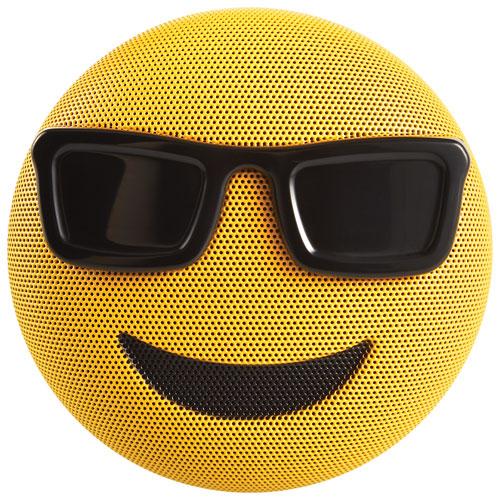 Cool Speakers jam jamoji emoji too cool bluetooth wireless speaker - yellow