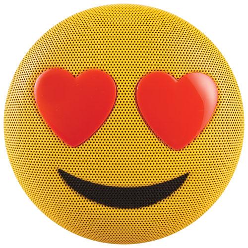 Jam Jamoji Emoji Love Struck Bluetooth Wireless Speaker - Yellow/Red
