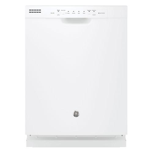 "GE 24"" 55db Built-In Dishwasher (GDF510PGJWW) - White"