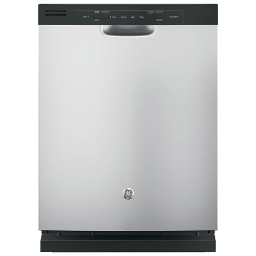 """GE 24"""" 55 dB Built-In Dishwasher (GDF510PSJSS) - Stainless Steel"""