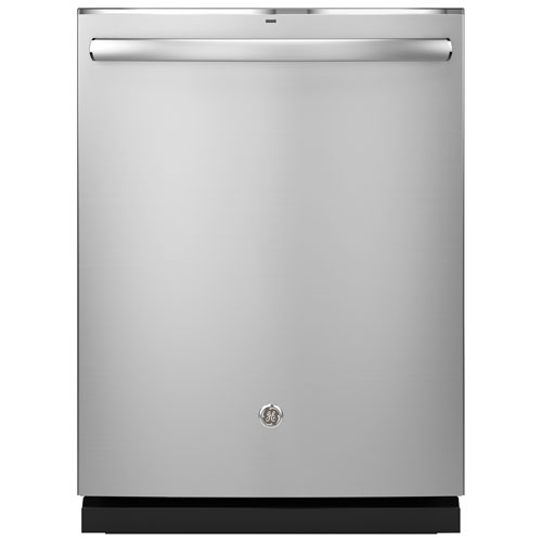 """GE 24"""" 46 dB Built-In Dishwasher with Stainless Steel Tub (GDT655SSJSS) - Stainless Steel"""