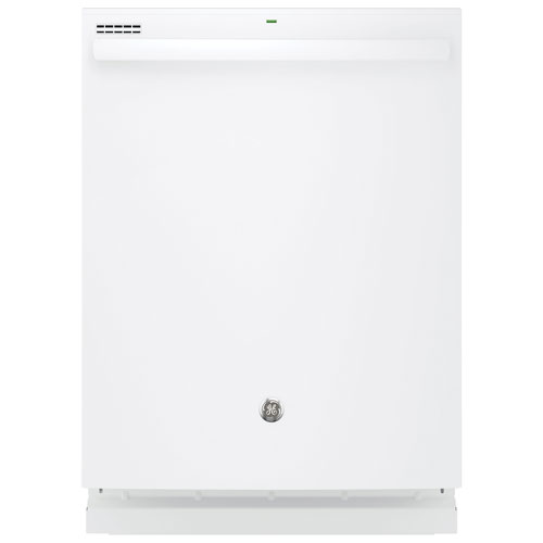 "GE 24"" 51 dB Built-In Dishwasher (GDT545PGJWW) - White"