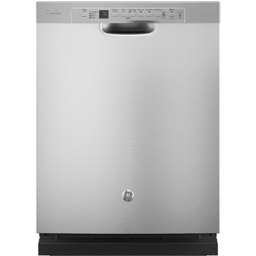 """GE Profile 24"""" 45 dB Dishwasher with Stainless Steel Tub (PDF820SSJSS) - Stainless Steel"""