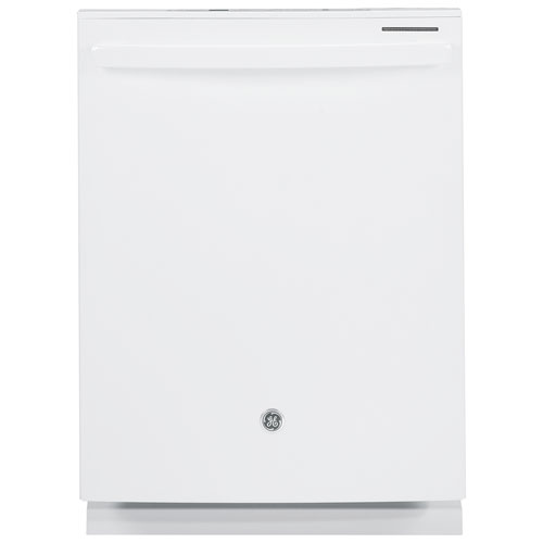 "GE Profile 24"" 45dB Dishwasher with Stainless Steel & Third Rack (PDT660SGFWW) - White"