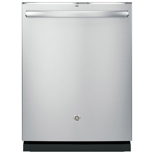 """GE Profile 24"""" 45dB Dishwasher with Stainless Steel Tub (PDT825SSJSS) - Stainless Steel"""