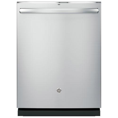 Lave-vaisselle 45 dB 24 po Profile de GE avec cuve en acier inoxydable (PDT825SSJSS) - Inox