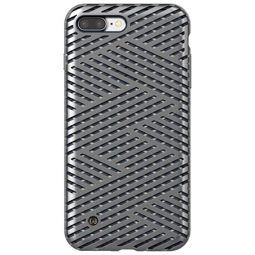 STI:L Kaiser II iPhone 7/8 Plus Fitted Soft Shell Case - Titan