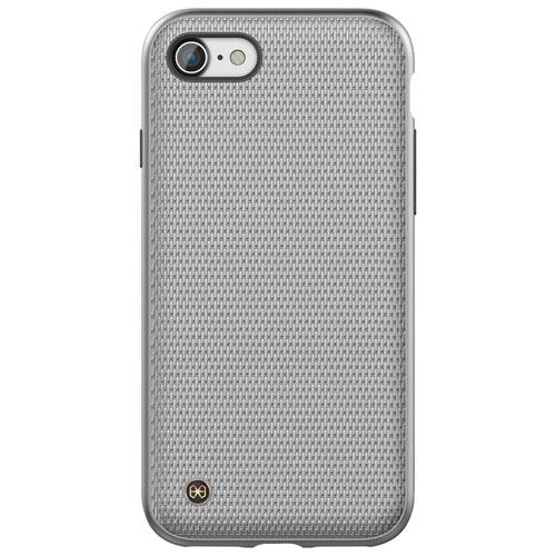 STI:L Chain Armour iPhone 7/8 Fitted Hard Shell Case - Silver