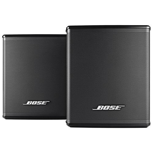 Bose Virtually Invisible 300 Wireless Surround Speaker - Pair - Black