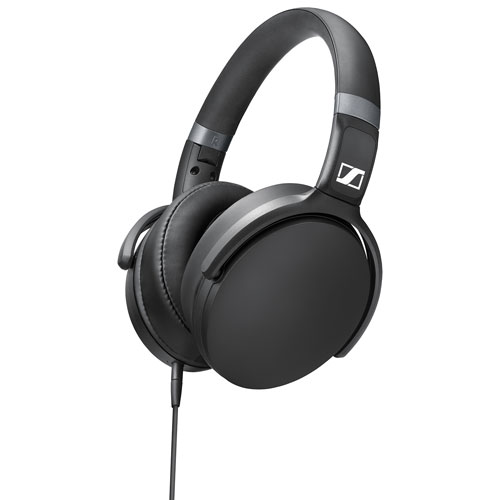 Sennheiser HD 4.30I Over-Ear Sound Isolating Headphones for Apple Devices - Black