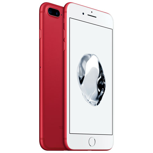 iPhone 7 Grand6 Go d'Apple avec Fido - Rouge - Forfait Grand - Entente de 2 ans