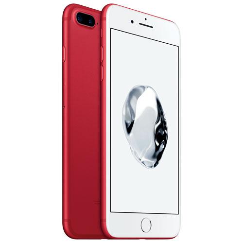 iPhone 7 Plus 128 Go d'Apple avec Virgin - Rouge - Forfait Platine - Entente de 2 ans