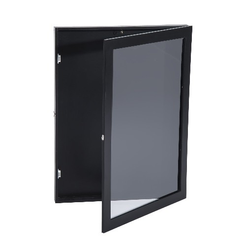 "HOMCOM Jersey Frame Display Case (24""x32"" Black)   Picture Frames - Best  Buy Canada 5c95156b1"