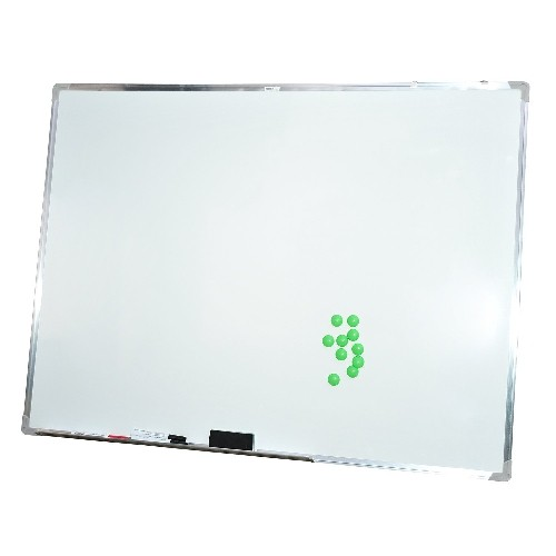 HOMCOM Magnetic Whiteboard Magnet Writing Board Office Home with Accessories 43.3x31.5inch