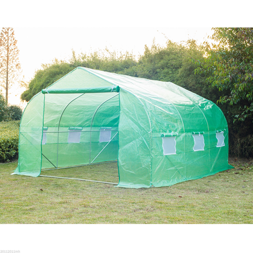 Outsunny 11.5x10x6.6FT Walk-In Greenhouse Garden Plant Warm Tunnel Green House