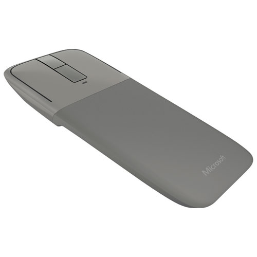 Microsoft Arc Touch Bluetooth BlueTrack Mouse - Grey