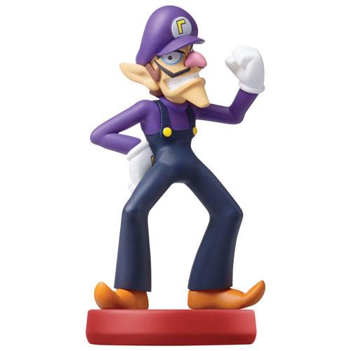 Figurine amiibo Waluigi de Super Mario