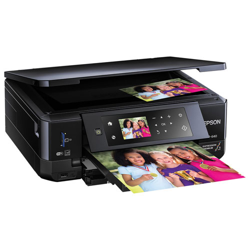 Epson Expression Premium Home Wireless All-In-One Inkjet Printer (XP-640)