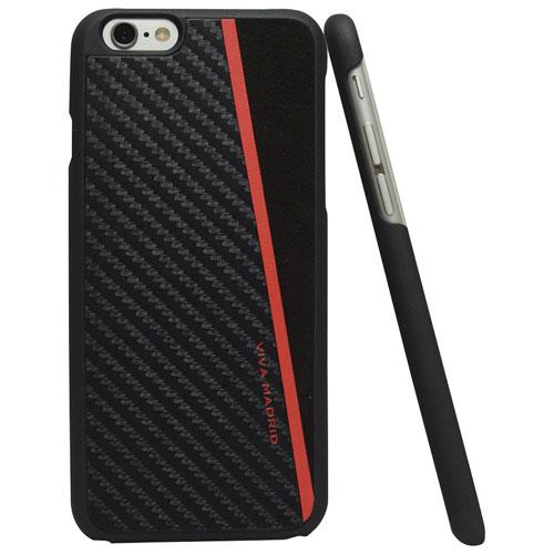 Étui rigide ajusté Racha de Viva Madrid pour iPhone 6 Plus/6s Plus - Noir-rouge